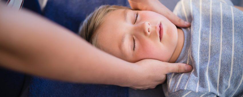 Le massage bien-être pour les enfants